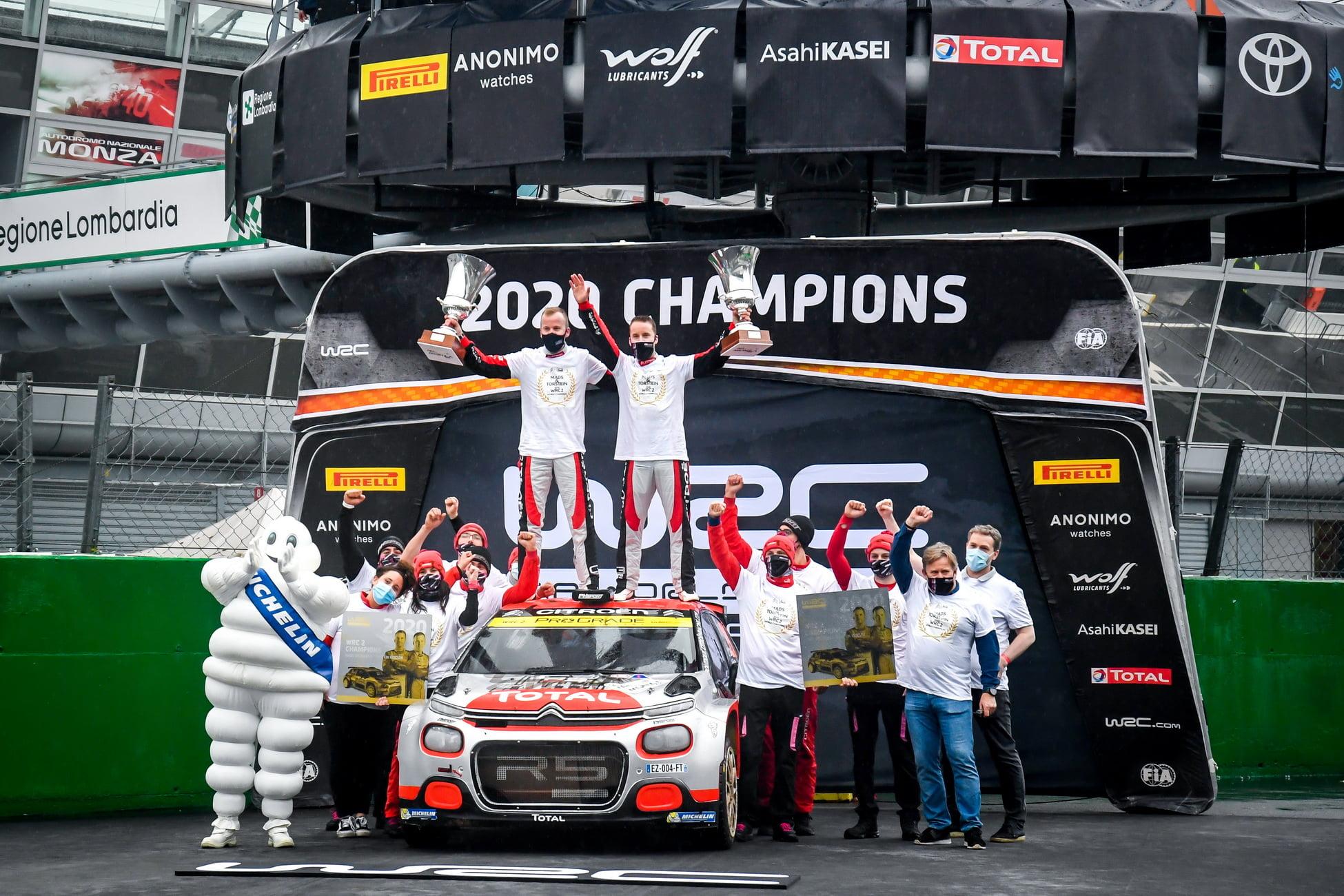 Mads Østberg sumaba en Monza su cuarta victoria del año