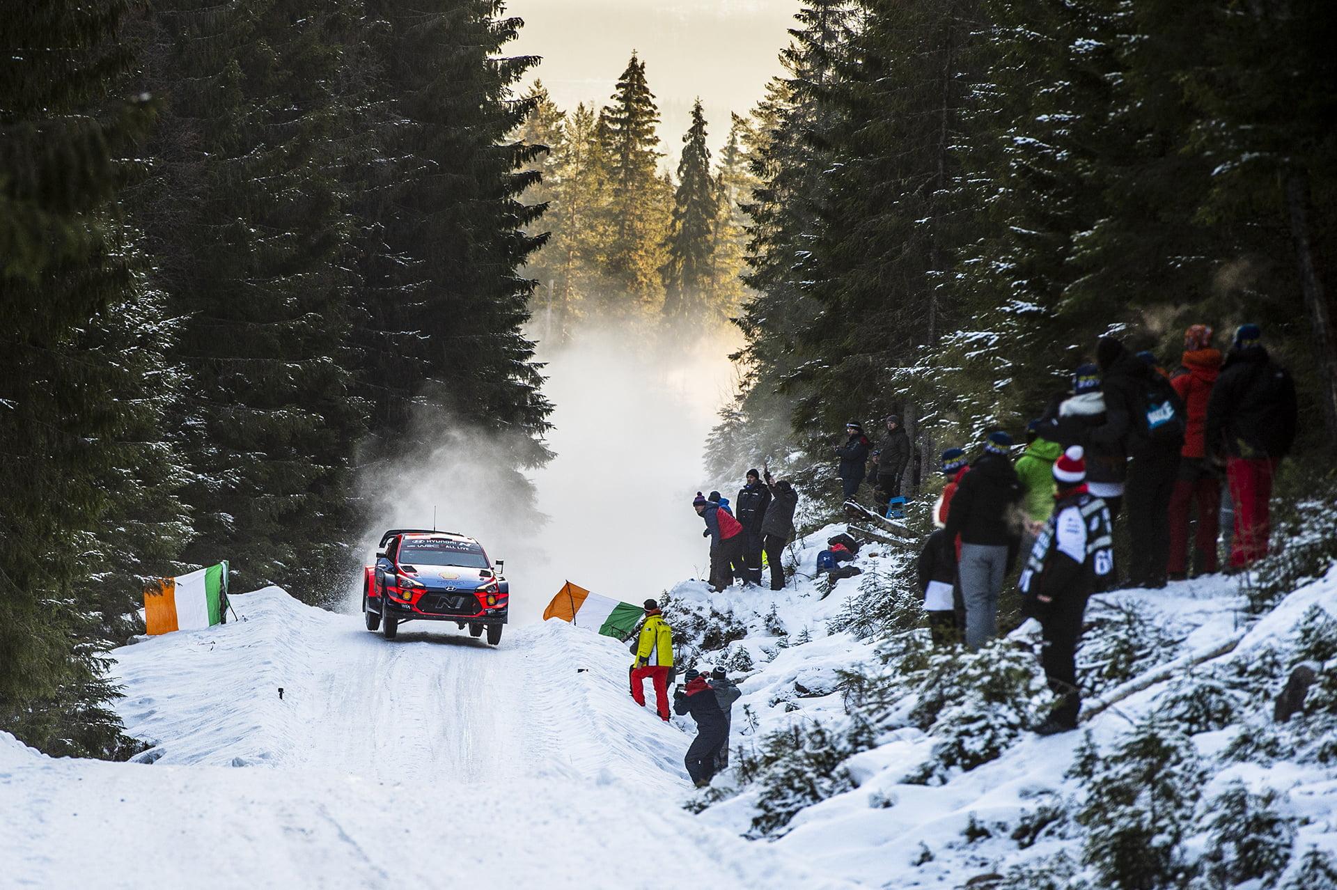 El Rallye de Suecia 2021 ha sido cancelado