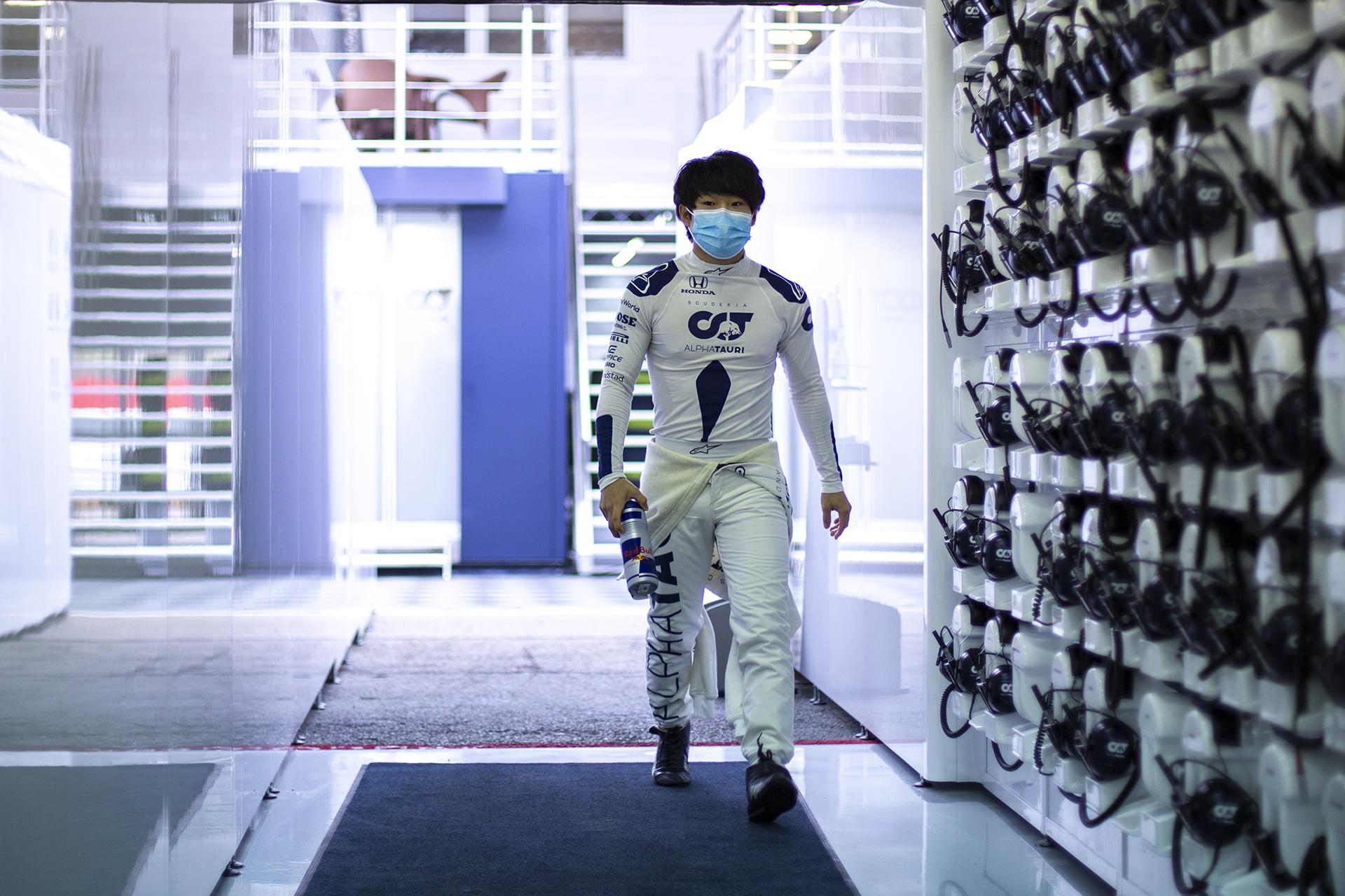 Tsunoda será uno de los grandes protagonistas en los test de Abu Dhabi.