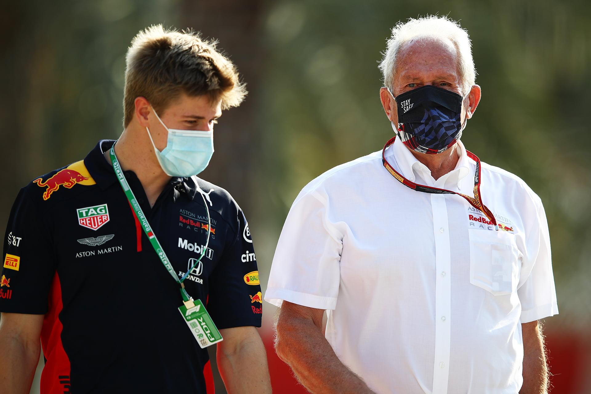 Juri Vips está listo para debutar en los test de jóvenes pilotos en Abu Dhabi.