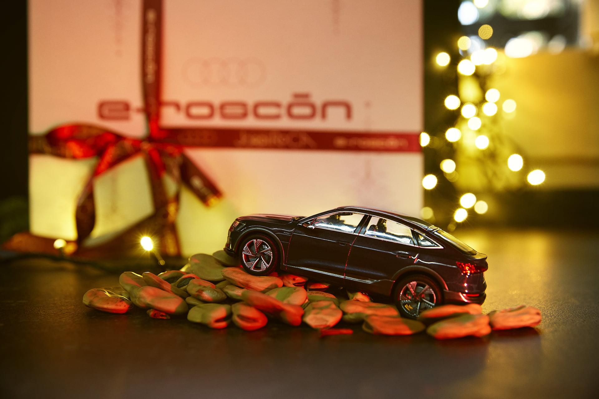 e-roscón, la creación especial de Audi y Jordi Roca para estas Navidades
