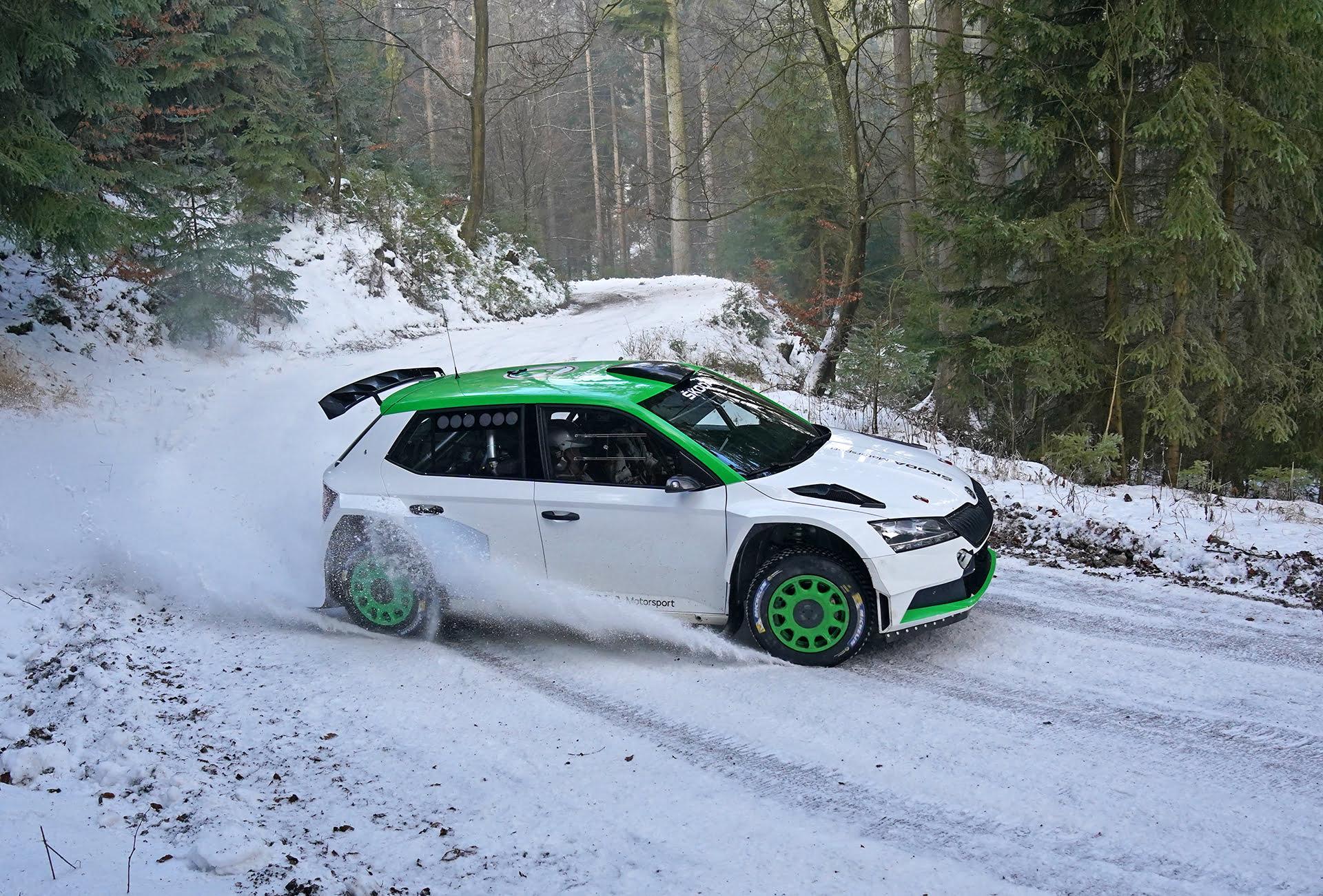 ŠKODA Motorsport ha confiado nuevamente en ZF para la creación de unos amortiguadores .