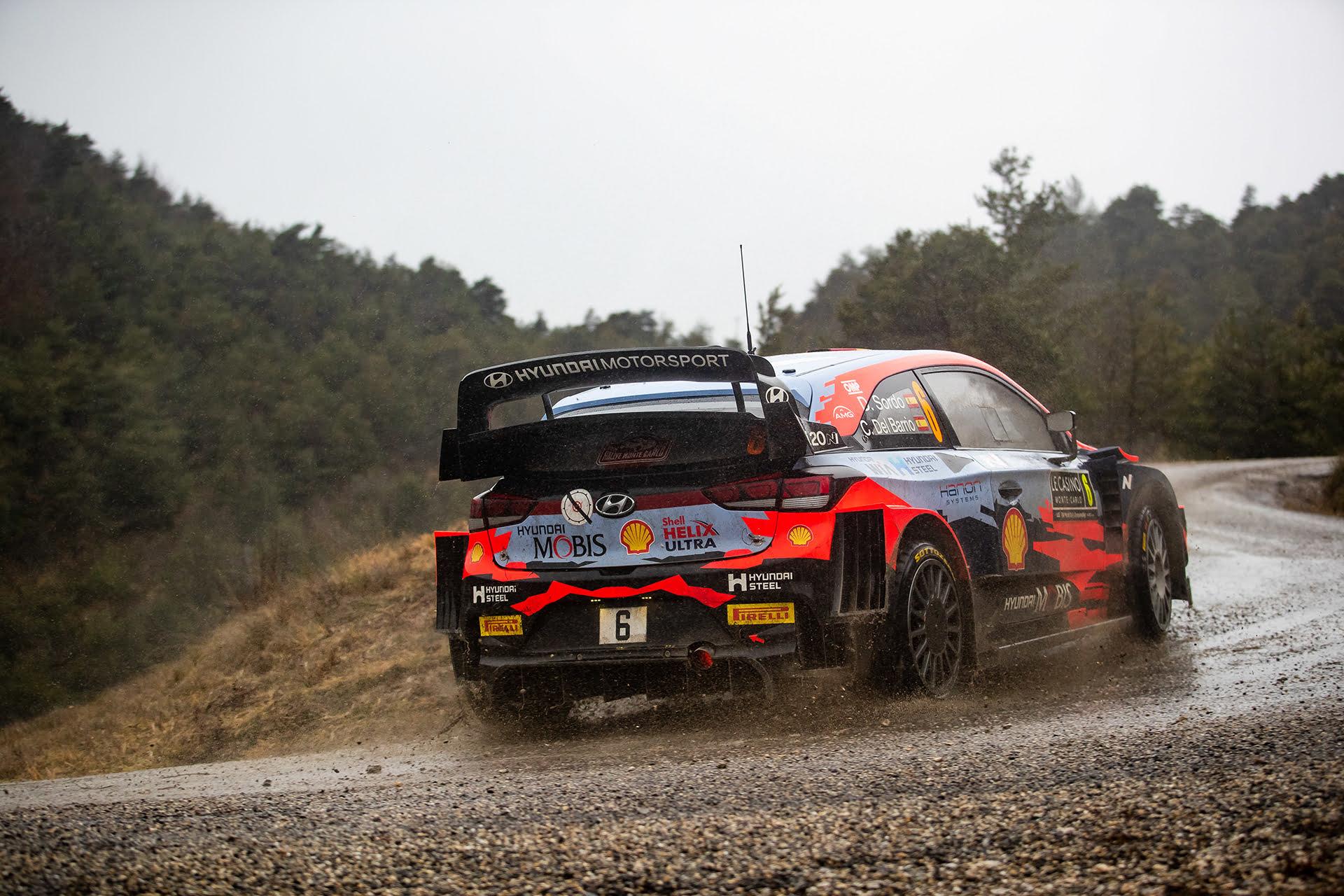 Dani Sordo y Carlos Del Barrio afrontaron su último WRC juntos.