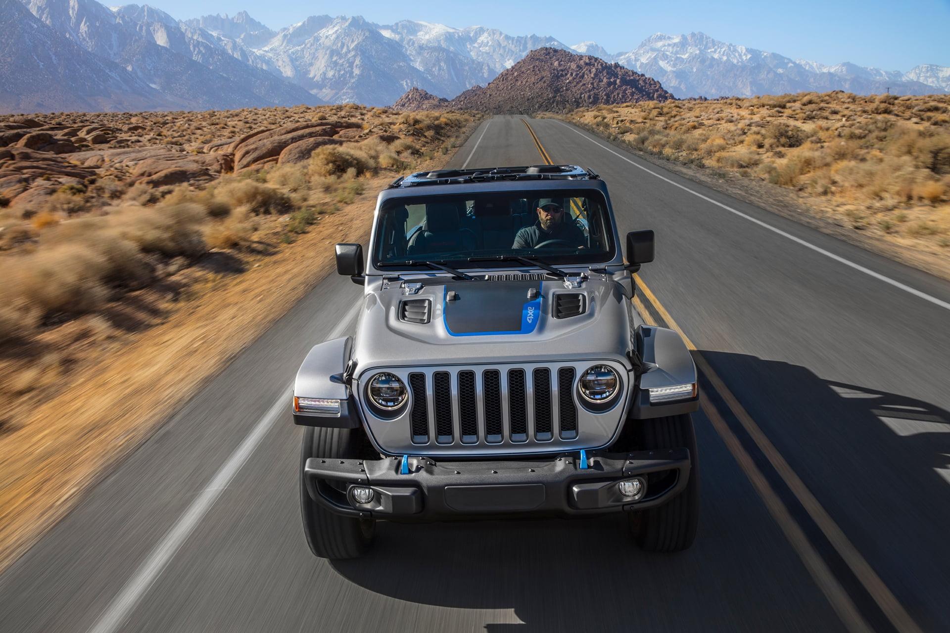 El Jeep Wrangler 4xe llega en primavera