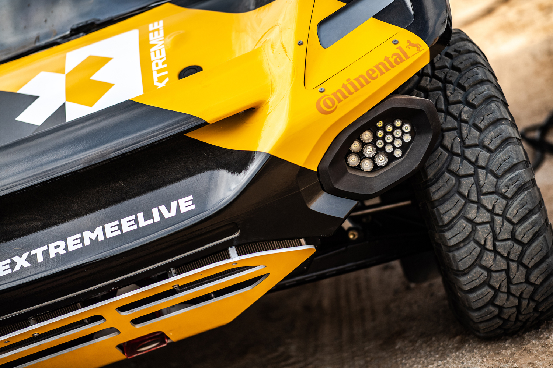 Continental ha desarrollado un neumático exclusivo para el campeonato.