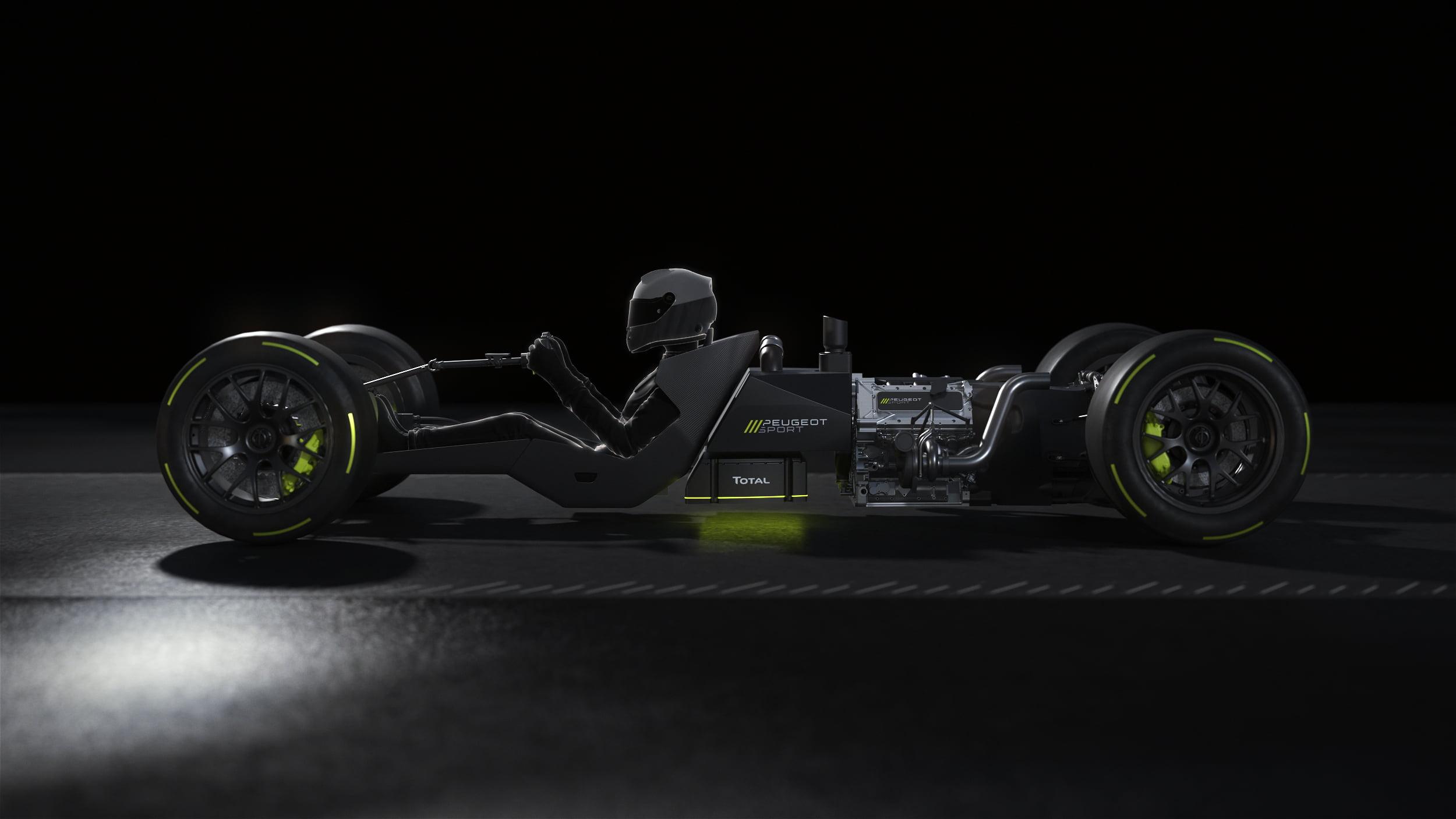 Peugeot Sport sigue su preparación para el WEC 2022