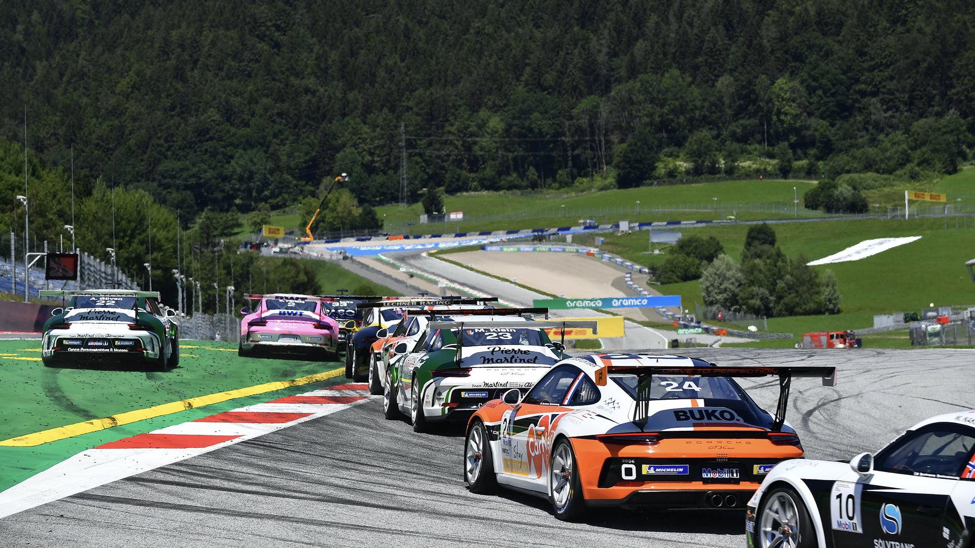 La Porsche Mobil 1 Supercup tiene ya asignados los 28 puestos