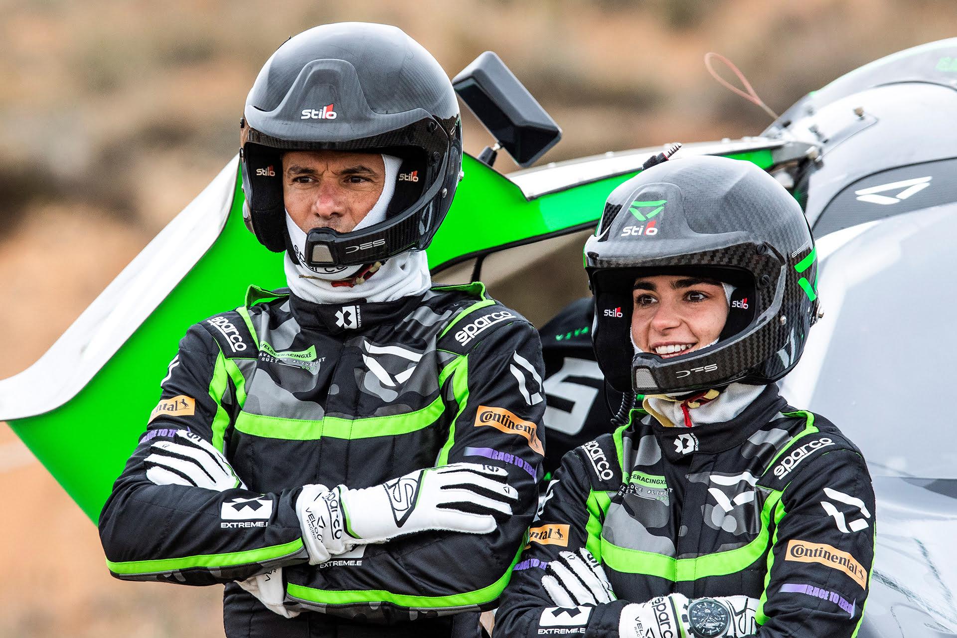 Stèphane Sarrazin  y Jamie Chadwick son el dúo de pilotos del Veloce Racing Team.
