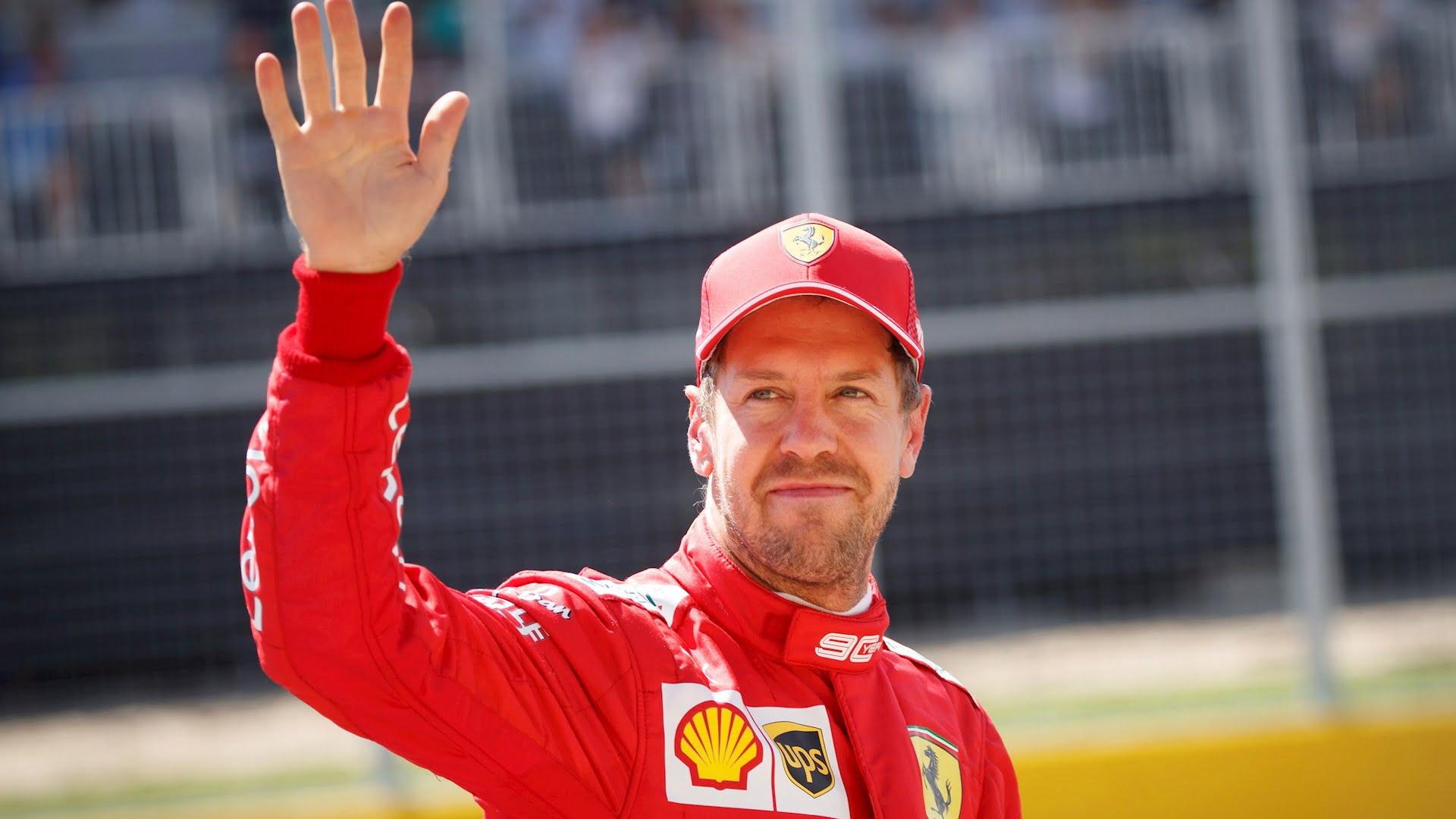 Sebastian Vettel confía en sonreír otra vez