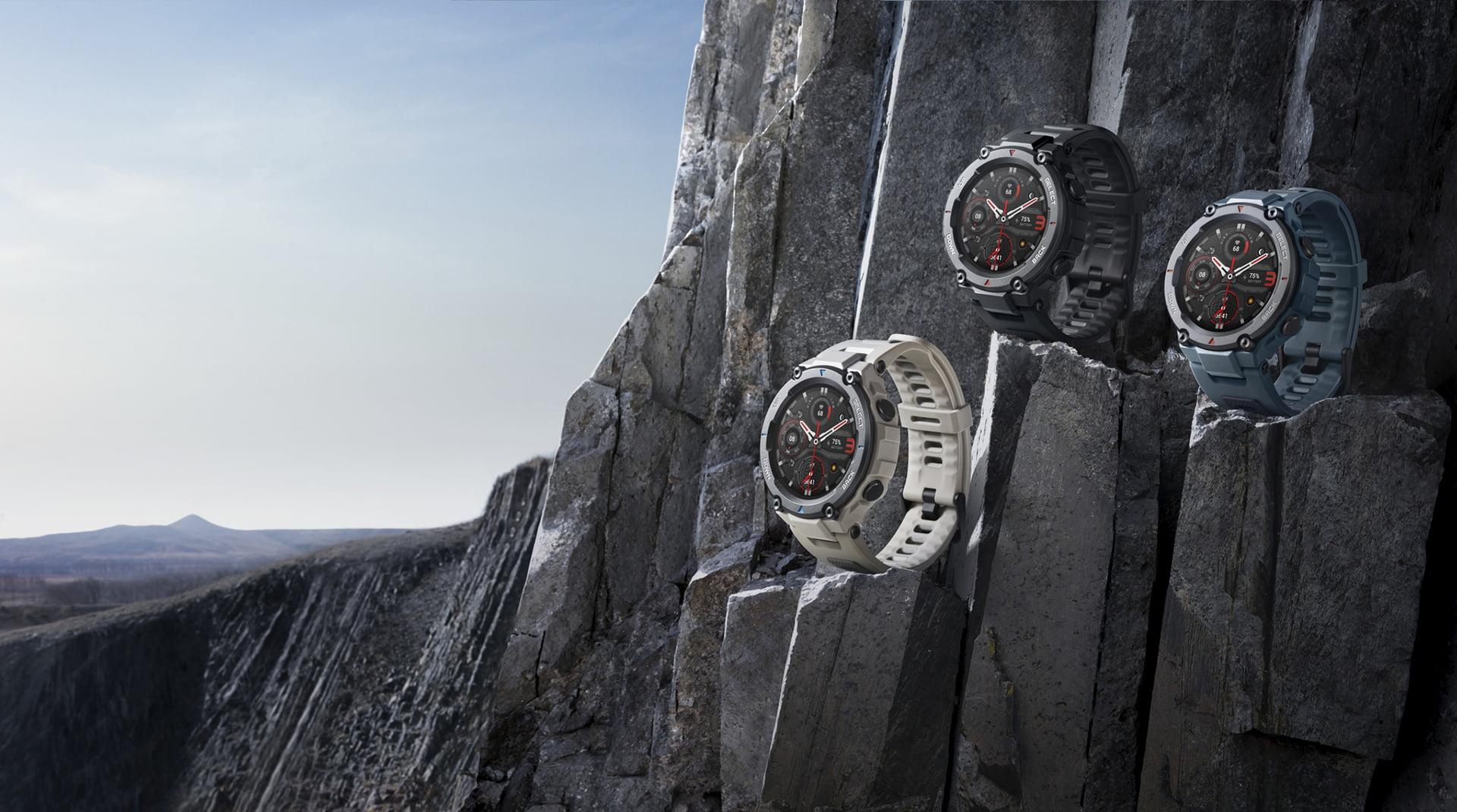 Amazfit T-Rex Pro, un reloj inteligente de última generación.