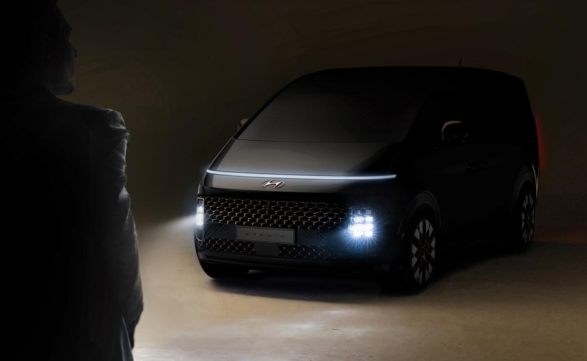 STARIA representa el inicio de una nueva era para Hyundai.
