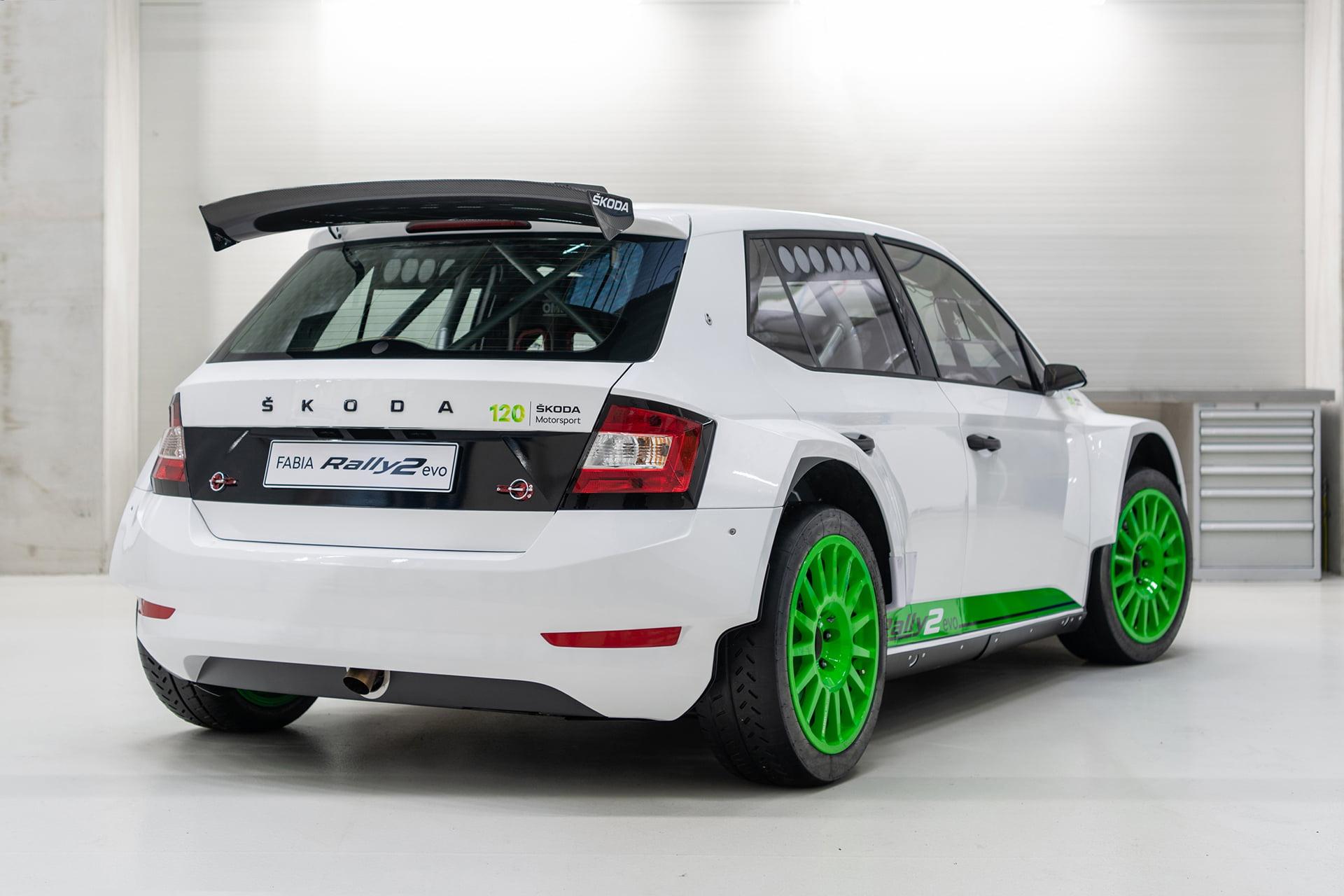 El ŠKODA FABIA Rally2 evo es un coche ganador