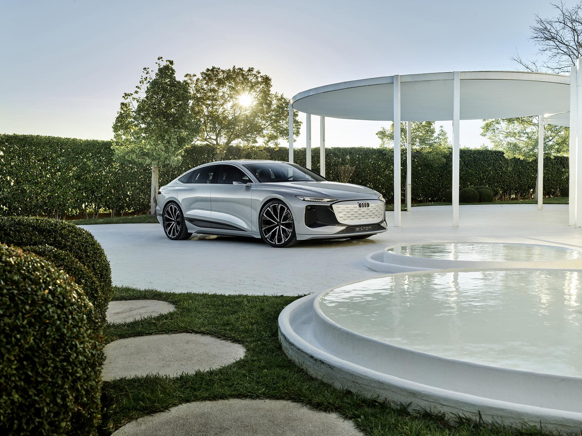El Audi A5 e-tron Concept es el inicio de una nueva gama de modelos para Audi.