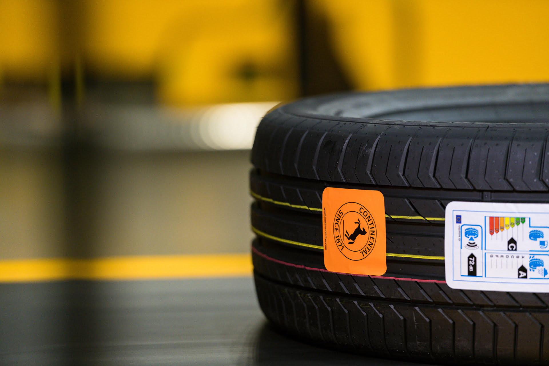 Continental trabaja con un nuevo simulador para sus neumáticos premium