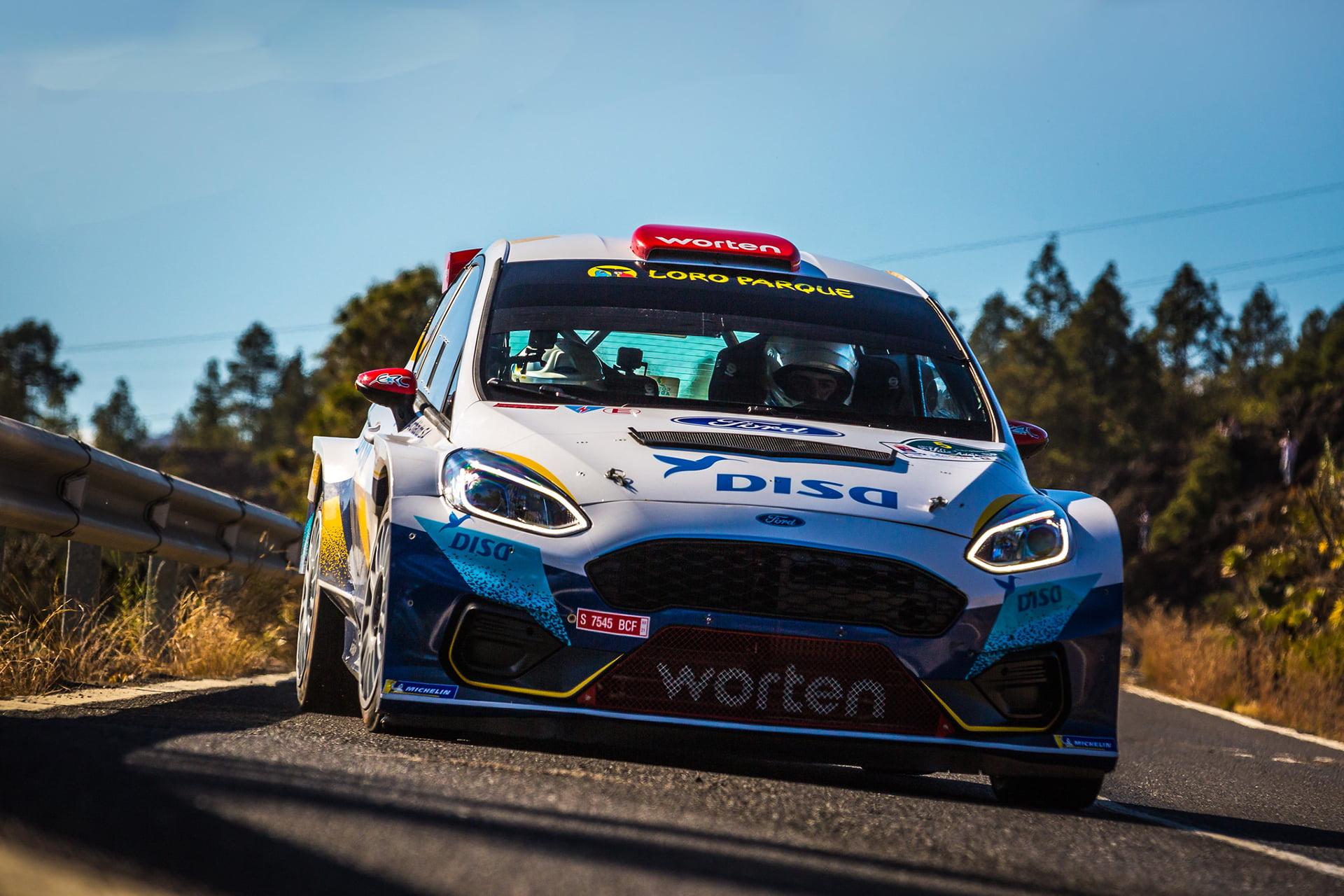 El 30º Rallye Villa de Adeje tuvo un claro dominador en Enrique Cruz