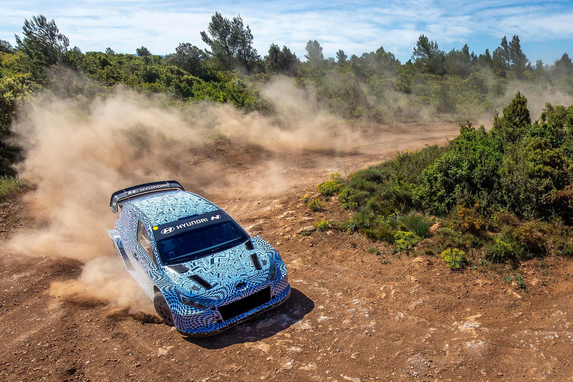 El WRC 2022 ya es el objetivo de Hyundai