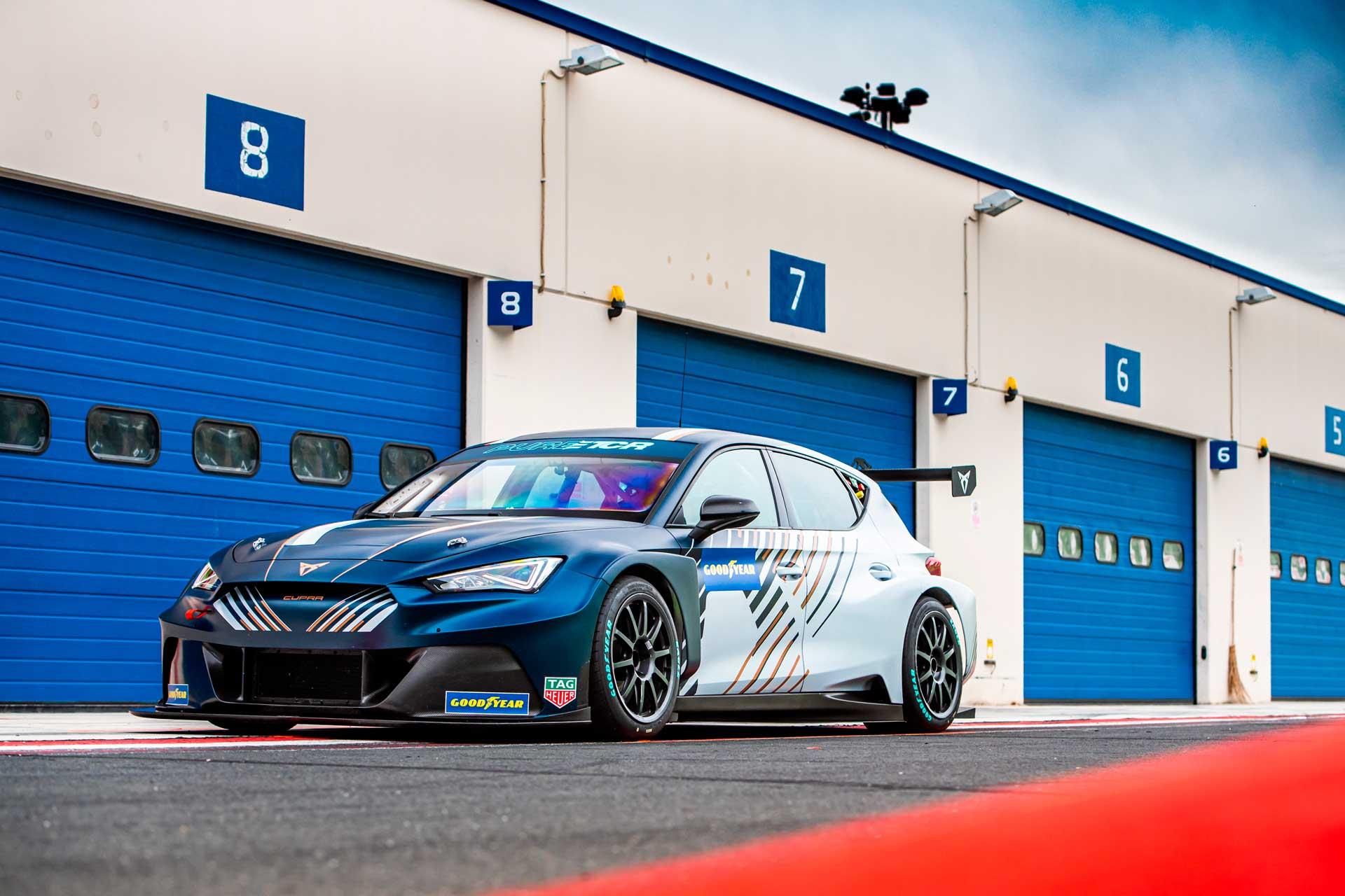 El CUPRA e-Racer listo para competir