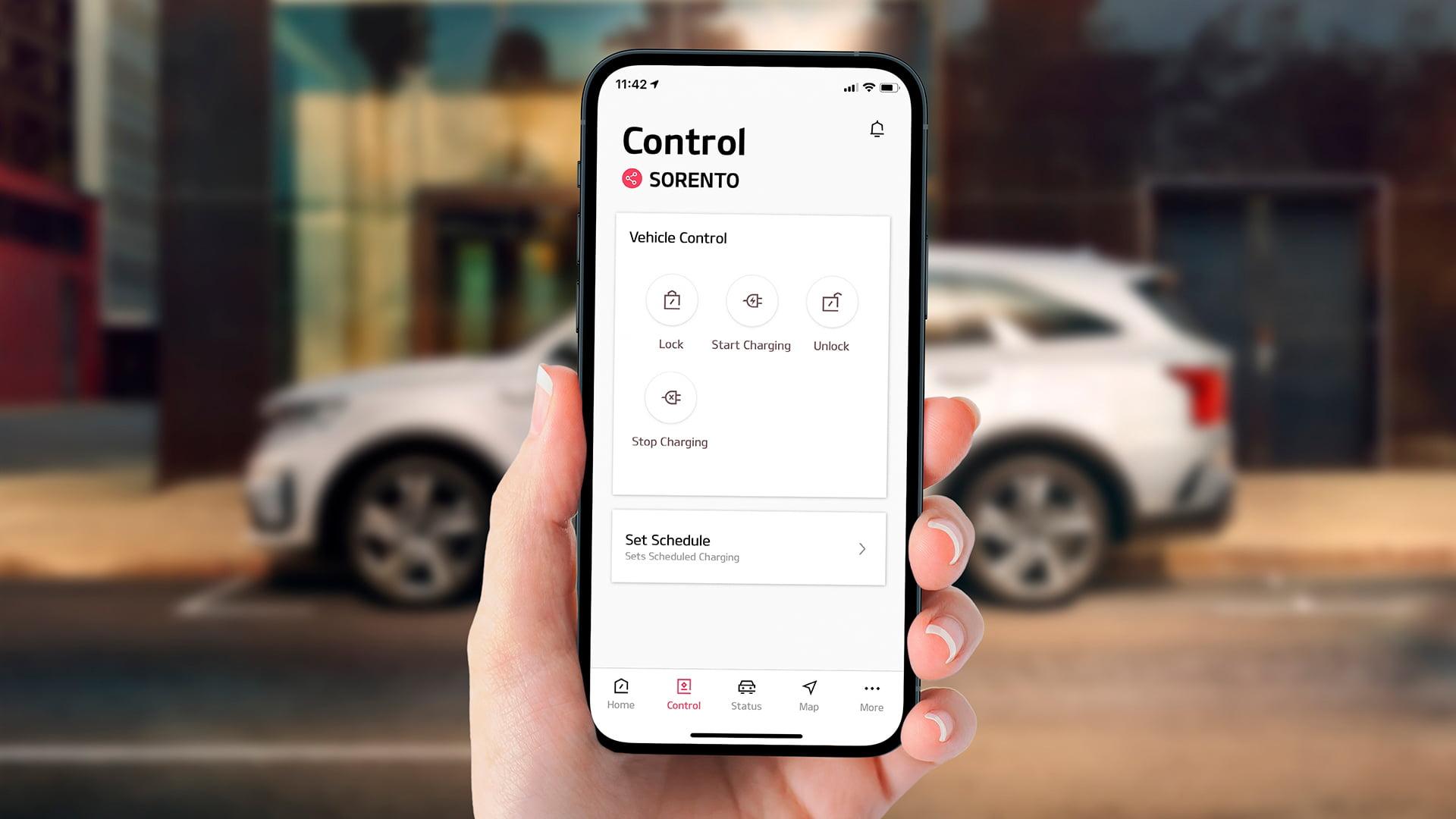 UVO Connect la nueva app actualizada de Kia Motors
