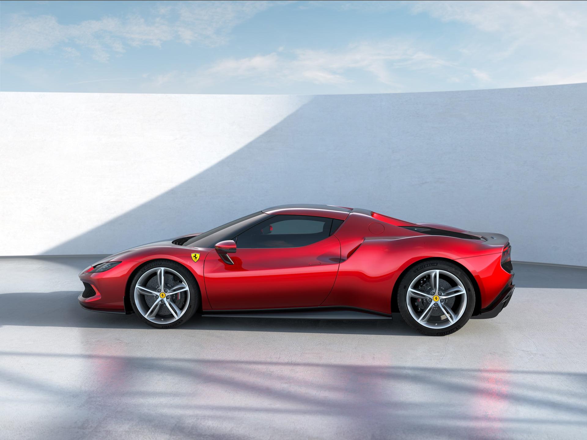 El  Ferrari 296 GTB es el más pequeño de los modelos de Maranello