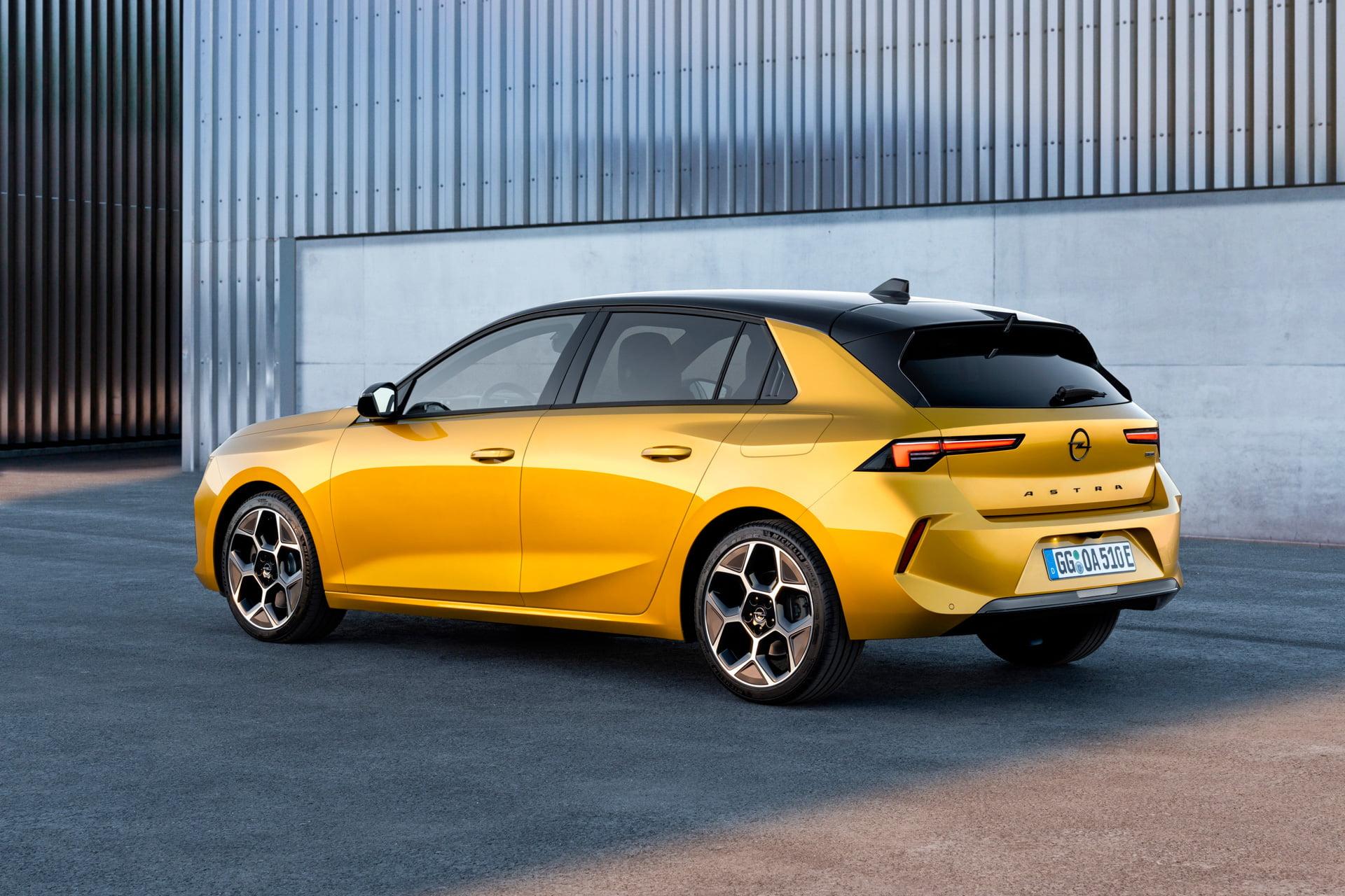 El nuevo Opel Astra llegará en 2022