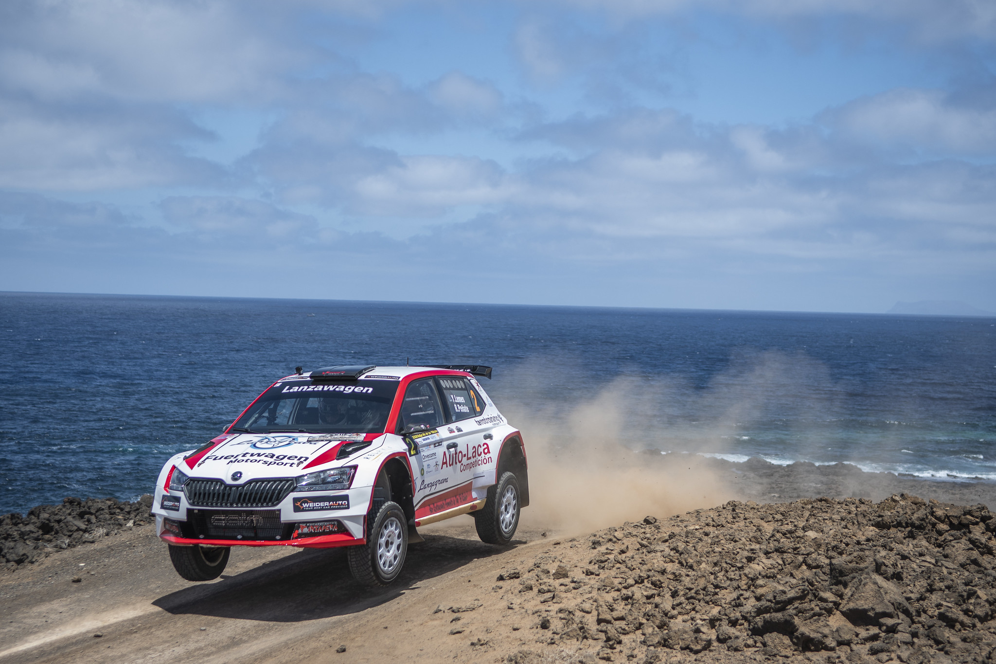 El Rallye Isla de los Volcanes ha tenido un claro ganador en Yerai Lemes