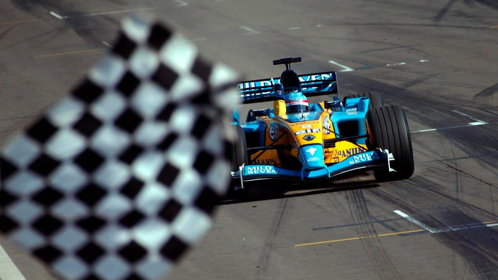 Alonso ganó con claridad en Hungría 2003