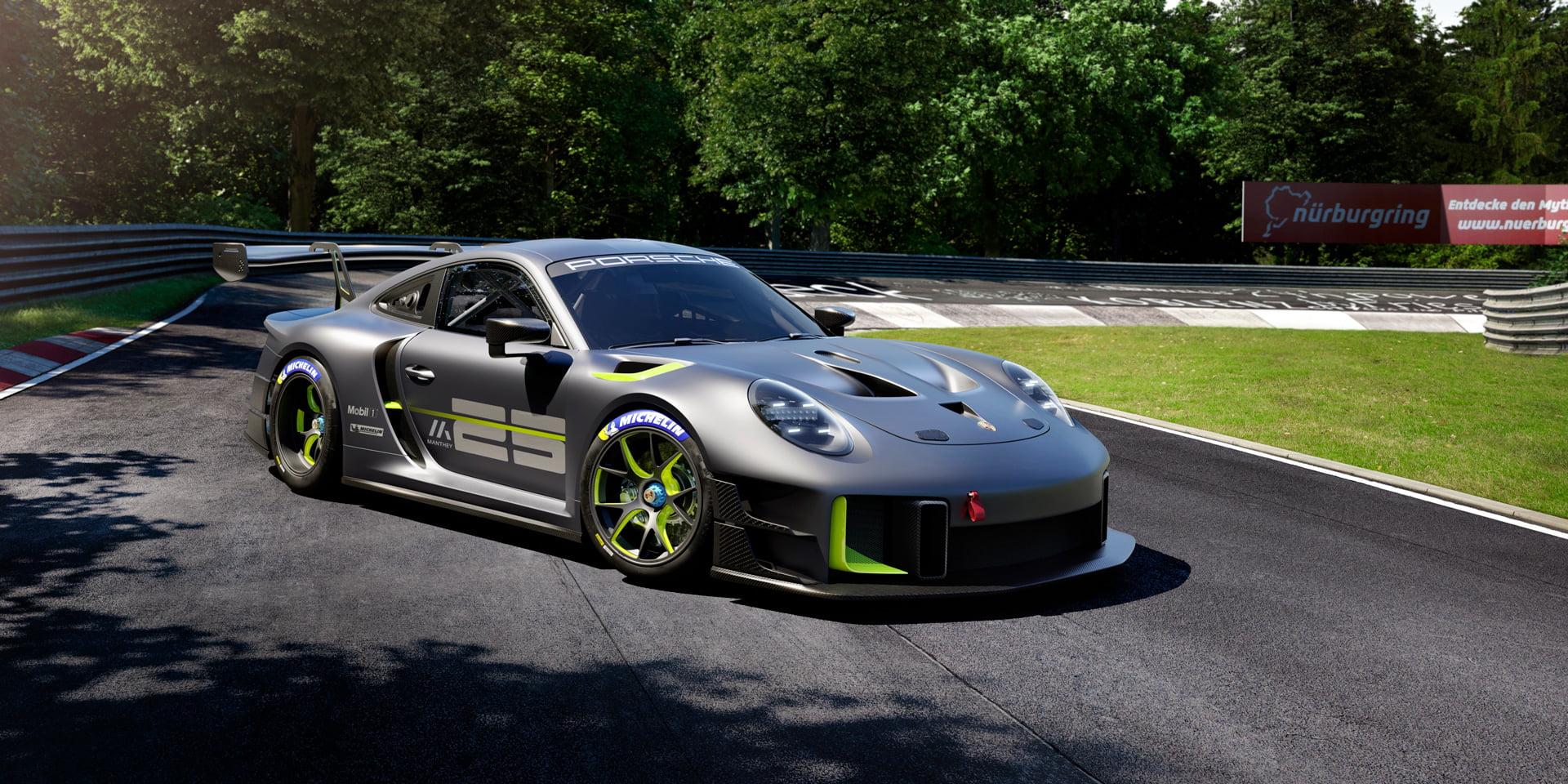 El 911 GT2 RS Clubsport 25, con una producción de tan solo 30 unidades, ha sido diseñado y desarrollado por Porsche y Manthey para celebrar el 25º aniversario de Manthey-Racing GmbH.