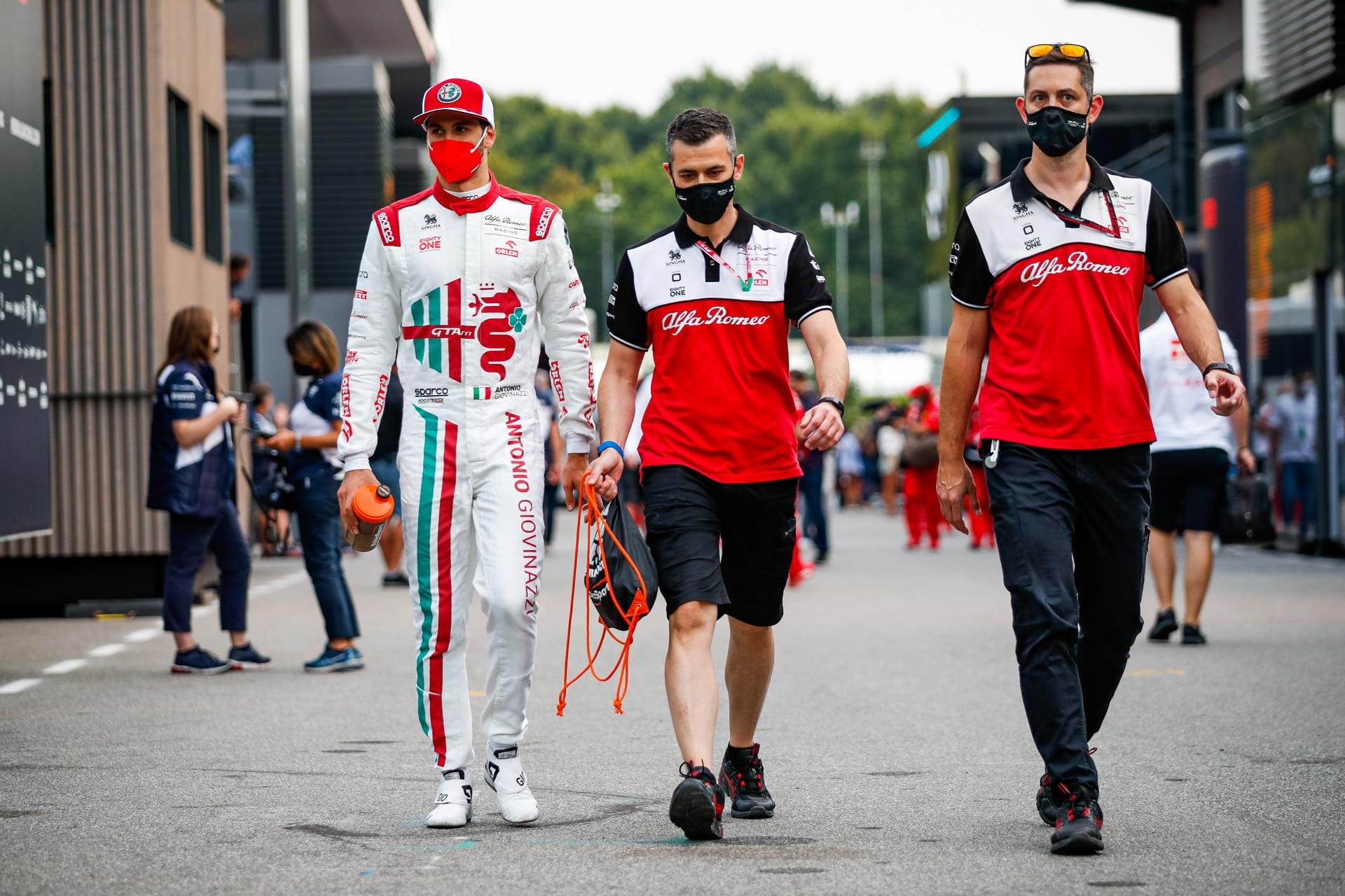 """Antonio Giovinazzi y su continuidad en la F1 ha pasado a ser ya un """"caso de estado"""""""
