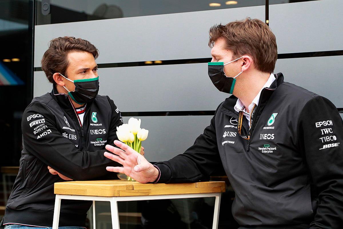 Nyck de Vries es uno de los pilotos más buscados en el Parco di Monza con motivo del Gran Premio de Italia de F1.